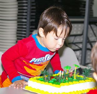 Benjamin's Fourth Birthday