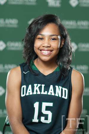Oakland CC Portrait Day: WBB 2016/2017