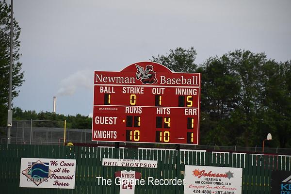 Baseball at Newman Catholic
