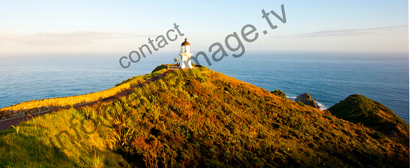 Cape Reinga Lighthouse at dawn