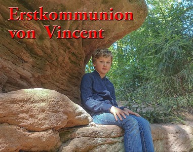Erstkommunion Vincent