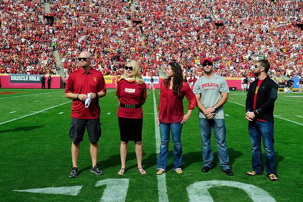 USC Football v Utah 2013
