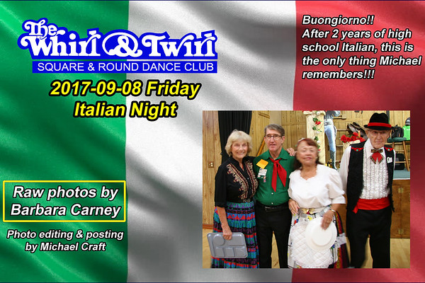 2017-09-08 WT Italian Night