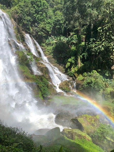 Wachirathan Waterfall & Rainbow 2