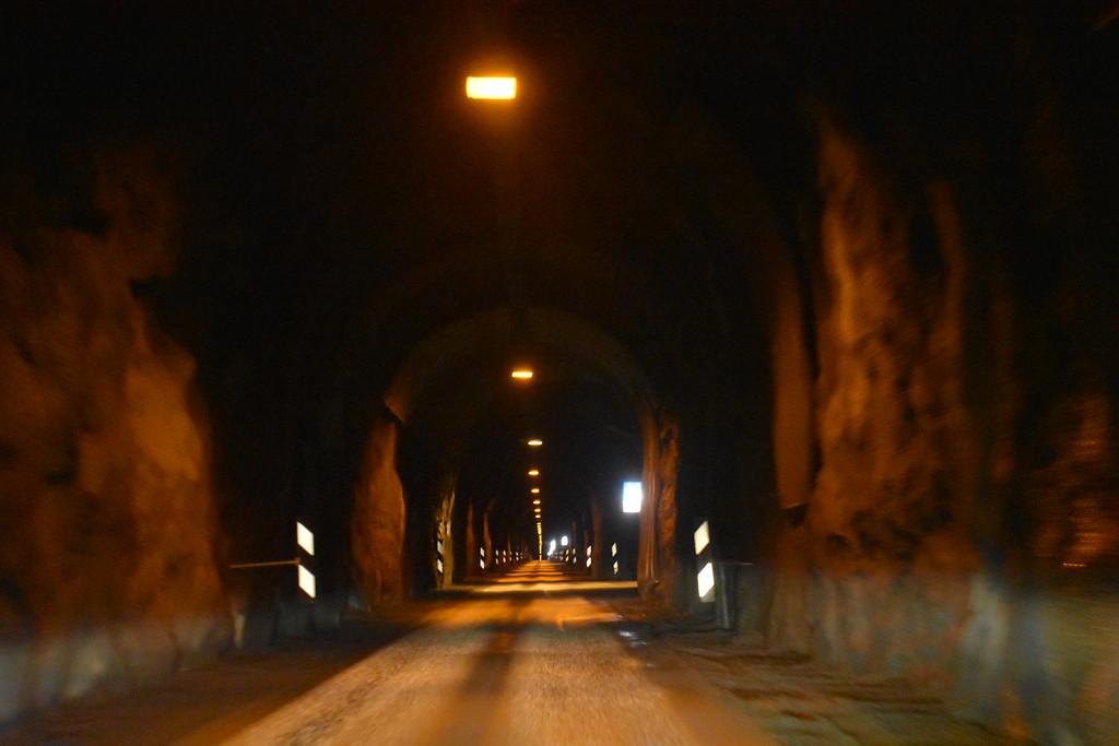 Ísafjörður–Suðureyri–Flateyri Tunnel in West Fjords Iceland