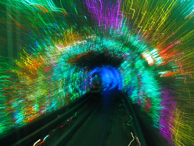 Kick-ass Bund Tourist Tunnel.