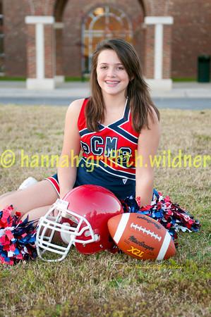 "2009 Peachtree Patriot Cheerleader Portraits ""PROOFS"""