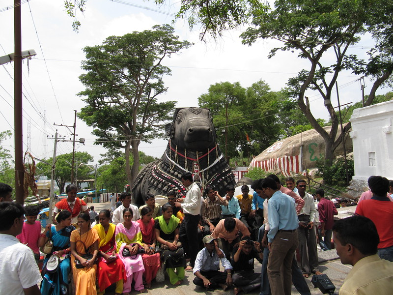 Nandi on Chamundi Hill