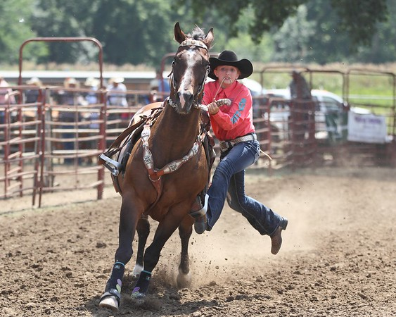 2014 Sioux Empire 4-H Rodeo - Sun Roping & Goats