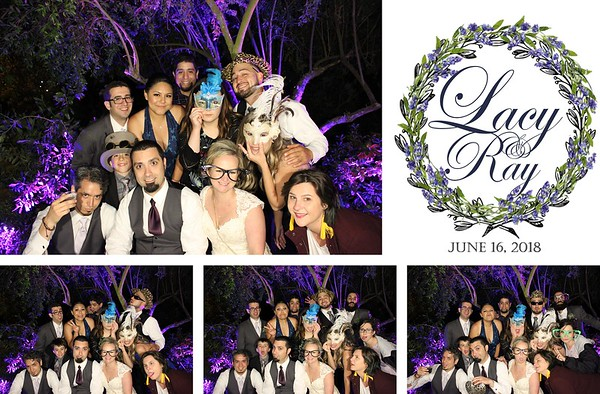 Lacy & Ray Wedding - 6.16.18 - Photo Strip