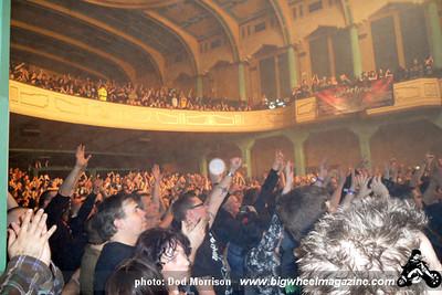 Motorhead - Anti-Nowhere League - UK Subs - at The 02 Academy - Glasgow, Scotland - November 11, 2011