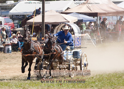 2016 East Of The Mississippi Chuck Wagon Races Saturday Classic Wagons