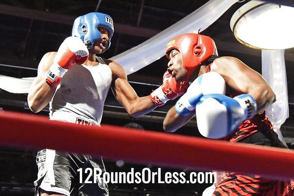 Bout #6  Octavius Webb, Bob Davis BC, Cleveland, OH  vs  Chris Hardway, Micheal J Zone BC, Cleveland, OH  178 Lbs.