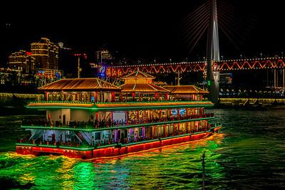 Cruise Departure, Chongqing