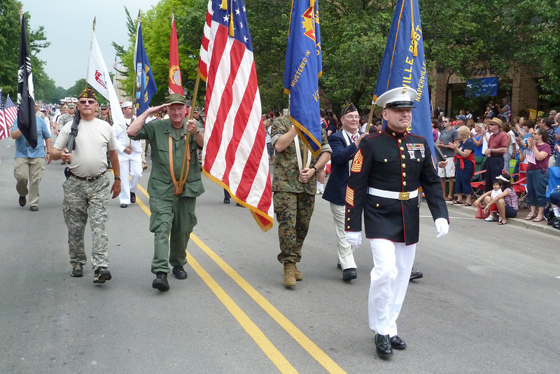 Lou marching in the parade 2010.jpg