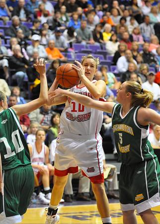 Oregon vs. Washington NW Shootout Girls Basketball