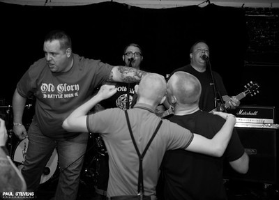 Best Of The West Part II Featuring: Harrington Saints - Bricktop - Old Glory - and Custom Fit - at Oakland Metro - Oakland, CA - April 27, 2013