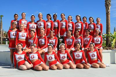 Ohio State All Girl Cheer Team Daytona Beach Photos