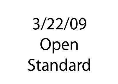 03-22-09 Open STD