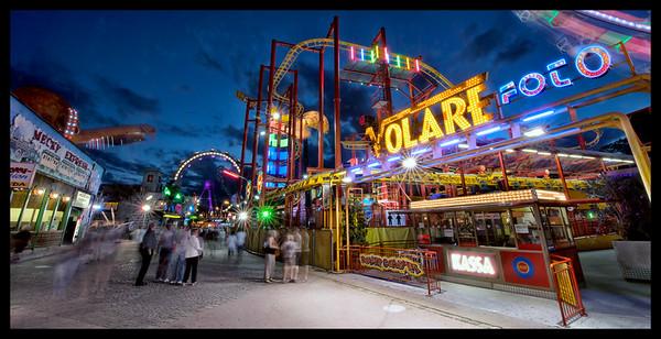 The Wurstelprater Amusement Park
