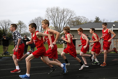 7th and 8th Grade Coed Track - 4/27/2016 Orchard View