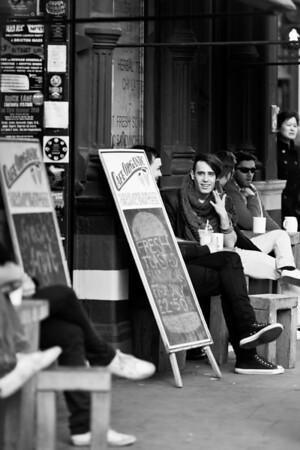 People in Brick Lane