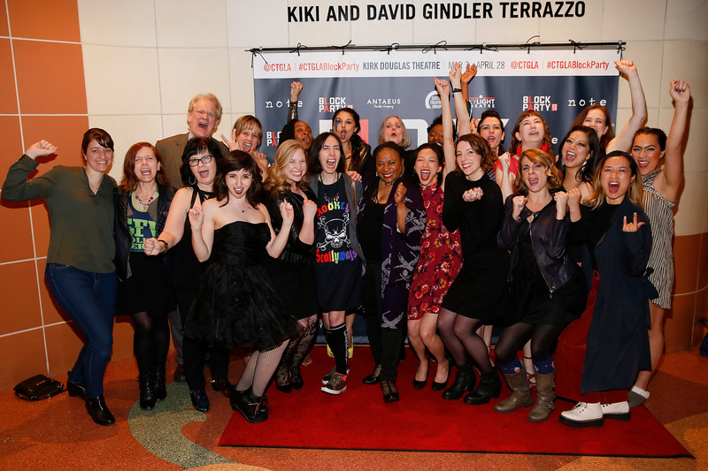 """""""For The Love Of (or, the roller derby play)"""" at Center Theatre Group's Kirk Douglas Theatre, Culver City, America - 9 Mar 2019"""