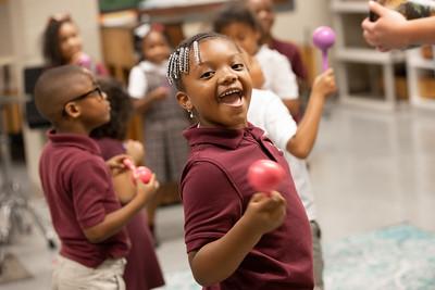 Rockin' Out in First Grade Music Class