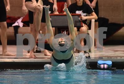 Mason City @ Fort Dodge Boys Swimming 12/7/17
