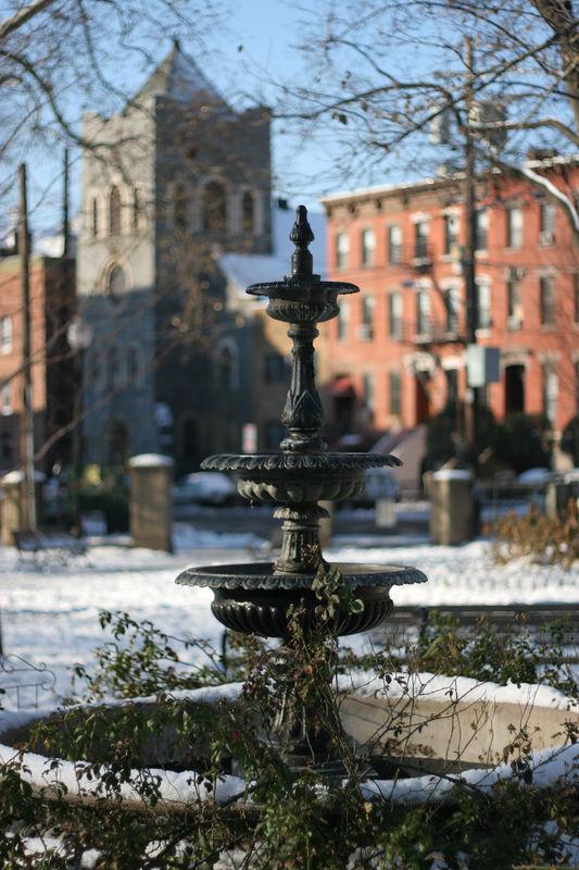 Van Vorst Park Fountain