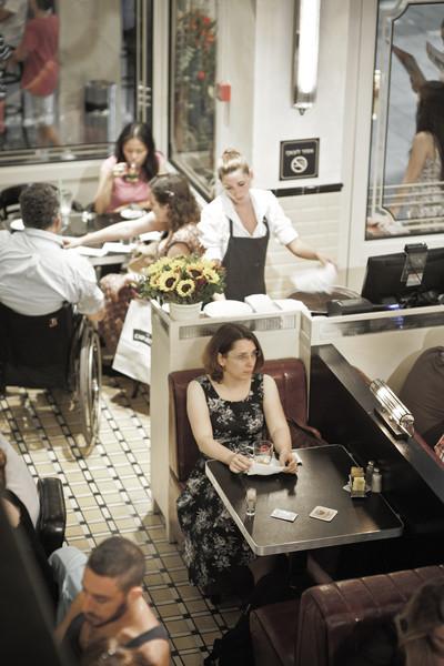 Vika at Diner by Gootcha