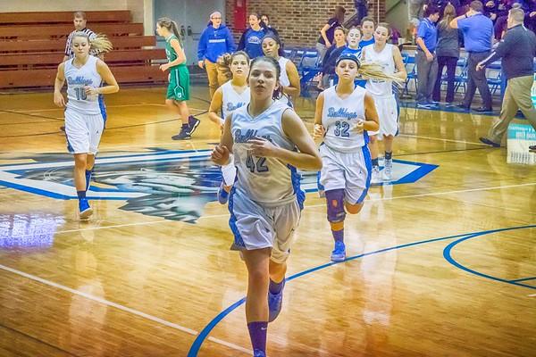 DHS Girls Basketball 01-19-2017