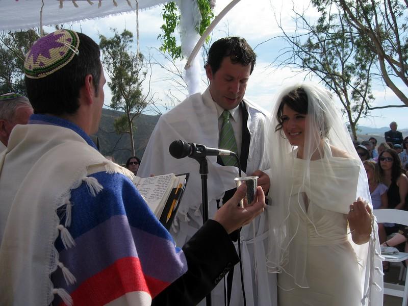 Rabbi Chasen sings the Sheva Brachot (Seven Blessings)