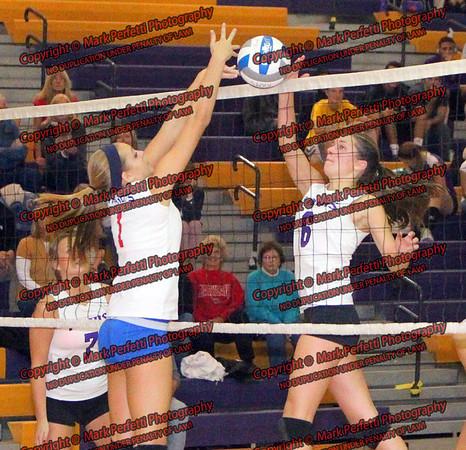 Lady Rams Volleyball vs B-P 10-9-2012