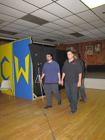 """""""Kid Reflex"""" Eric Dylan with Dave Oliveira & ACW Security vs. """"Superstar"""" Shawn Candido with Johnny Fabulous"""