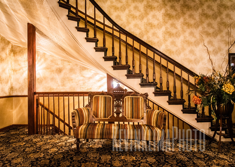 Inside the De Soto House Hotel
