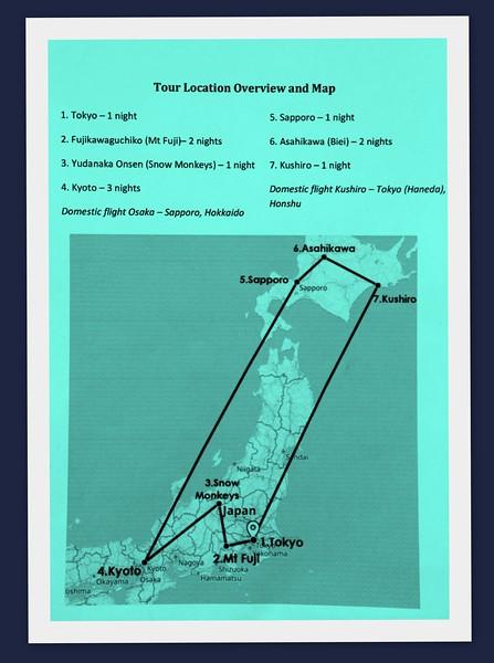 Luminous Journey Photographer's Itinerary Jan 5th to Jan 16th 2020