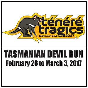 Tenere Tragics 2017 Tasmanian Devil Run