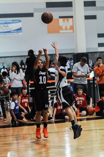 FH Dawgs Basketball 12-08-12
