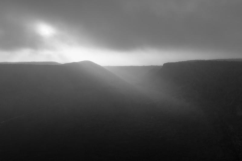 Fog at Volcano National Park