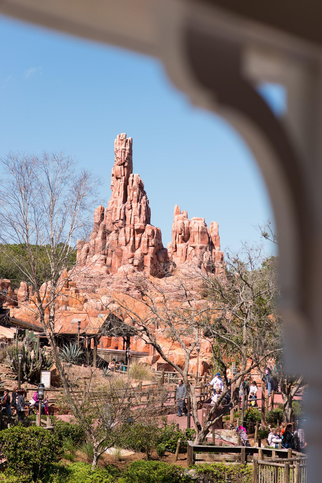 Big Thunder Mountain - Walt Disney World Magic Kingdom