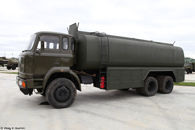 Топливозаправщик на шасси BMC Fatih 200 (Unidentified refueller on BMC Fatih 200 chassis)