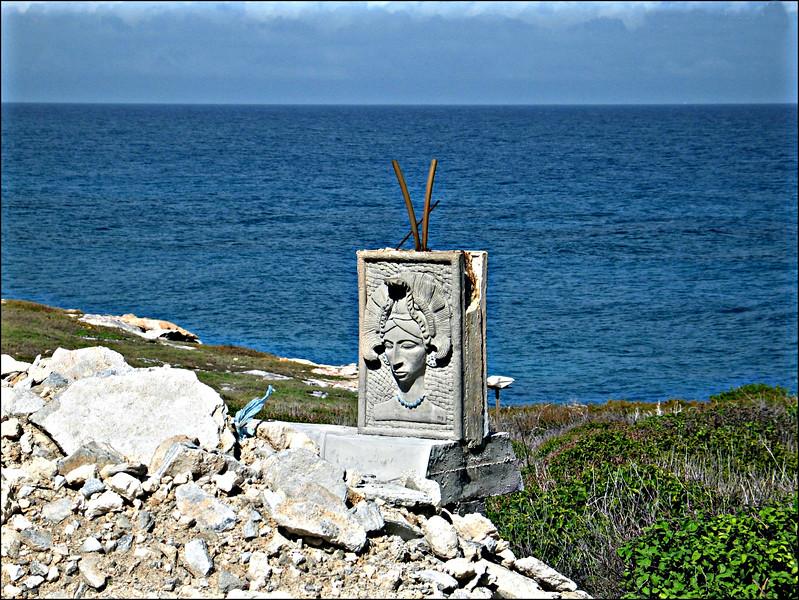 Siren;  Isla Mujeres, Mexico