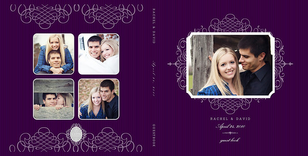 Rachel+David: Guestbook