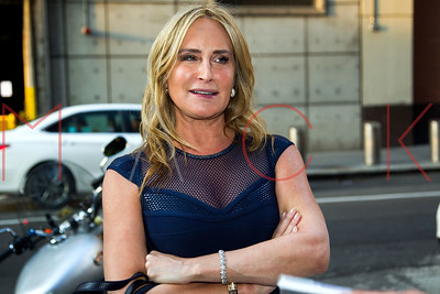 NEW YORK, NY - MAY 18:  Sonja Morgan attends the Fursan And French Sole Fall 2017 Preview at DoubleTree Suites by Hilton New York City - Times Square.