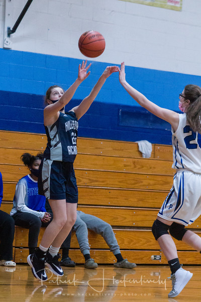 2021-02-11 Hillsdale Academy Girl's Basketball vs. Pittsford
