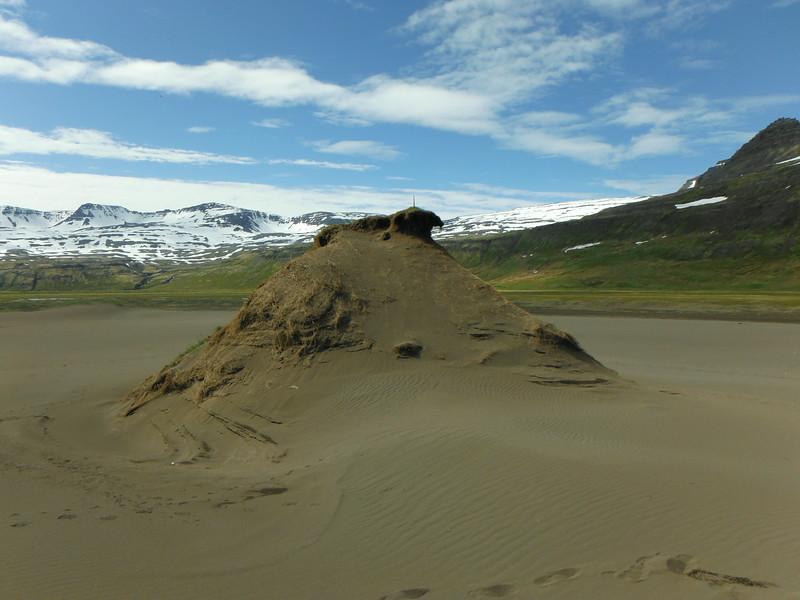 Á leið milli Kýrárvaðs og Hafnar í Hornvík