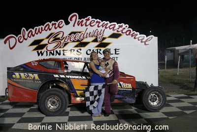 June 12, 2010 Redbud's Pit Shots Delaware International Speedway Elk Mooneyham Memorial Night