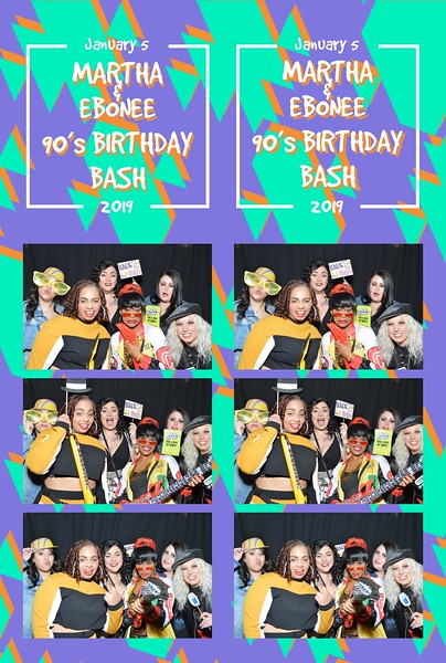 Martha & Ebonee's 90's Birthday Bash