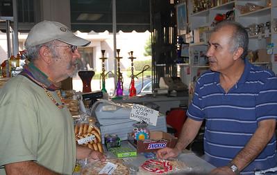 Ara visits, September 2011